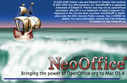 NeoOffice Splash